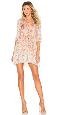 Blush Shimmer Georgette Dress