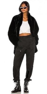 Nya Faux Fur Jacket