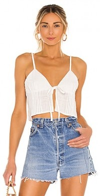Dusty Tie Front Camisole