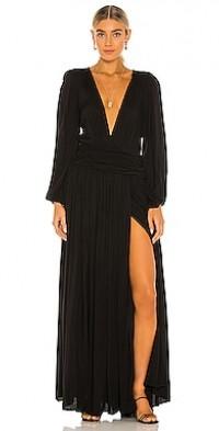 Rayon Lapis Maxi Dress