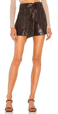 Mari Vegan Leather Short