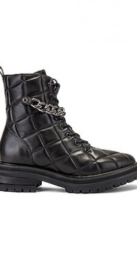 Quilted Moto Boot