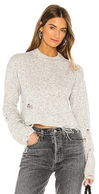 Serendipity Womens Long Sleeve Round Bottom Keyhole Tieback Textuard Knit Sweater Pullover