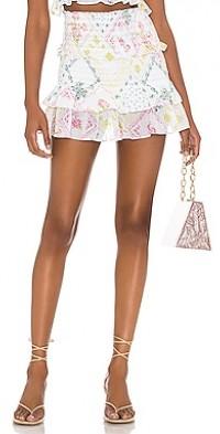 Love Shack Fancy Sicily Skirt