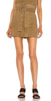 Anniston Suede Mini Skirt