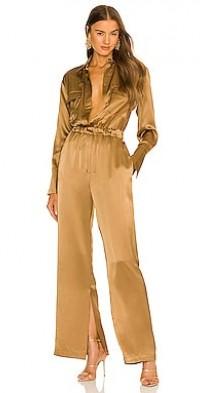 Emma Double Pocket Long Sleeve Jumpsuit