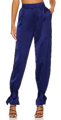Erato High Waist Pant with Cuff Tabs