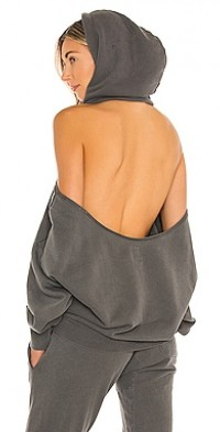Tricia Cold Shoulder Hoody