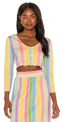 Layla Shimmer Crop Top