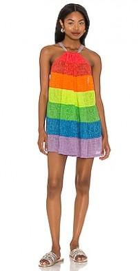 Popsicle Halter Mini Dress