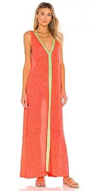 V Neck Flare Maxi Dress