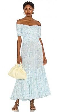 Soledad Off Shoulder Midi Dress
