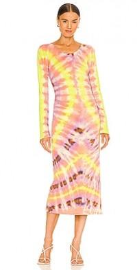 Fitted Tie Dye Dress