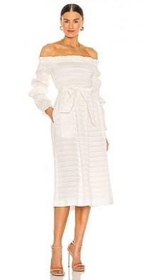 Jame Off The Shoulder Midi Dress