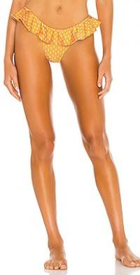 Agadir Ruffled Bikini Bottom