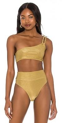 Oro One Shoulder Bikini Top