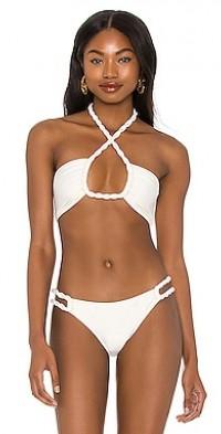 Vanilla Bandeau Rope Bikini Top