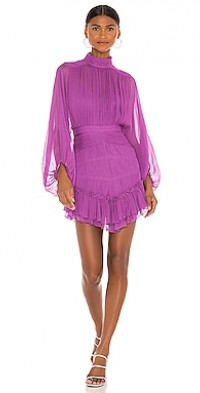 Emilia Long Sleeve Mini Dress