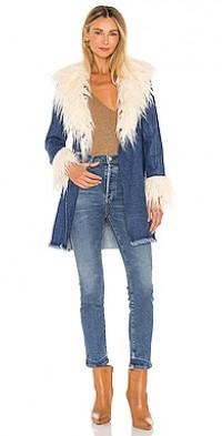 Penny Lane Faux Fur Coat