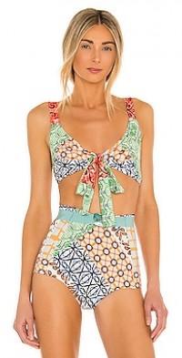 Brightline Bikini Top