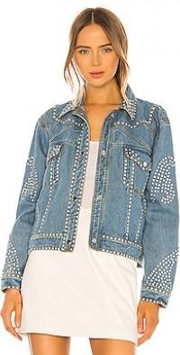 Electra Denim Rhinestone Jacket
