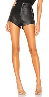 Studded Combo Shorts