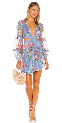 Bellitude Floating Cut Out Dress