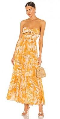 Mae Tie Midi Dress