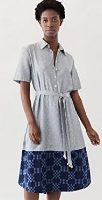 Mixed Shirtdress
