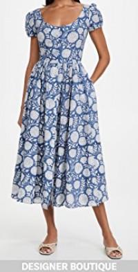 Muse Lapis Floral Dress