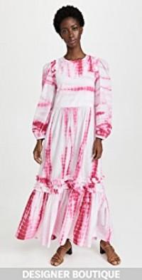 Plume Pink Shibori Dress