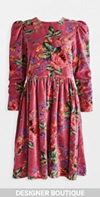 Ruby Velvet Dress