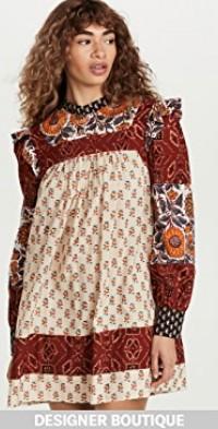 Sofia Patchwork Dress