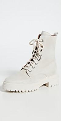 Ba&sh x Something Navy Comy Combat Boots