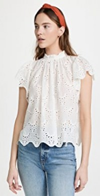 Carla High Neck Shirt