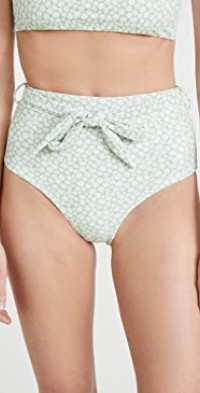 Cabana High Waisted Bikini Bottoms