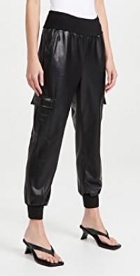 Faux Leather Giles Pants