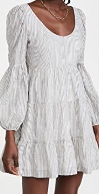 Striped Rose Dress