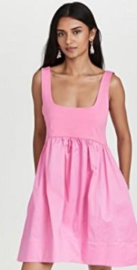 Cotton Combo Tank Dress