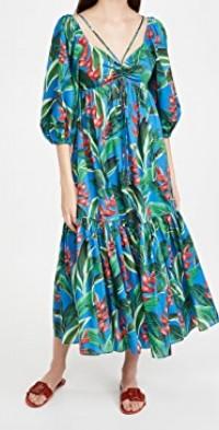 Dream Garden Midi Dress