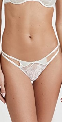 Frankie Lace Strappy Tanga Thong