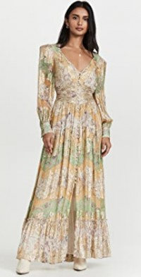 Ruched Long Dress