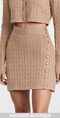 Mini Skirt Virgin Wool