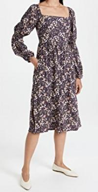 Midnight Dream Midi Dress