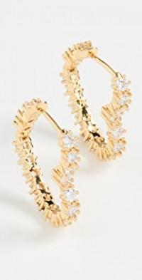 Diamond Heart Bijoux Earrings
