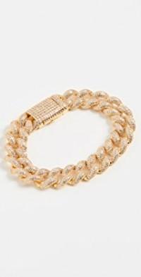Pave Cuban Link Bracelet