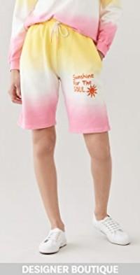 Dip Dye Jogging Shorts