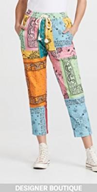 Multicolor Trousers