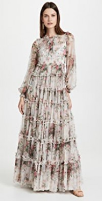 Floral Swan Gown