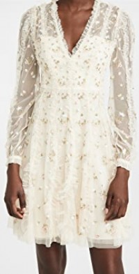 Frieda Disty Long Sleeve Mini Dress